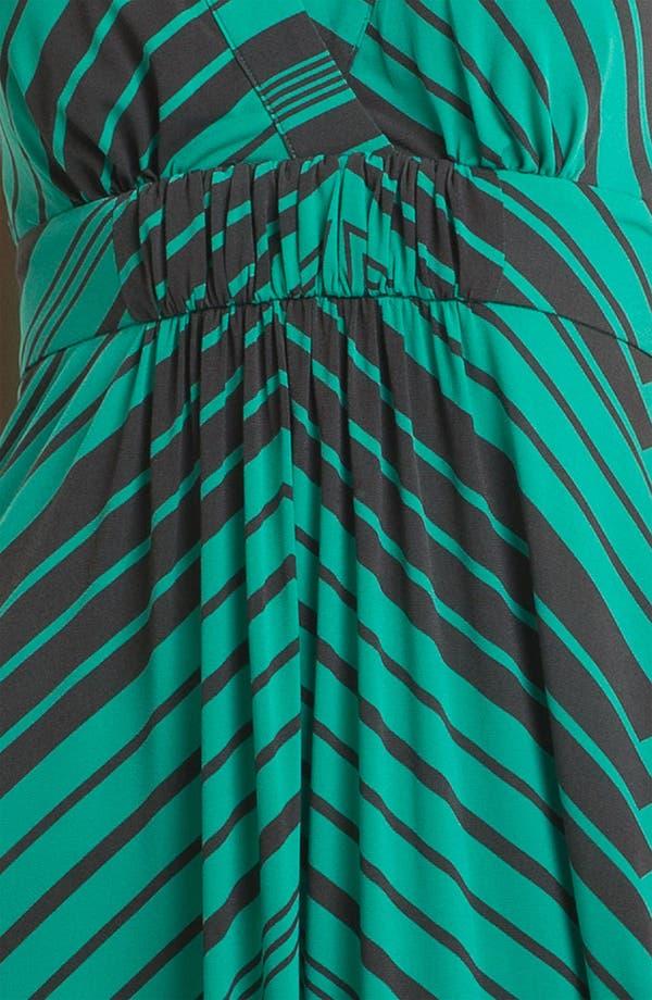 Alternate Image 3  - Jessica Simpson Stripe Halter Maxi Dress
