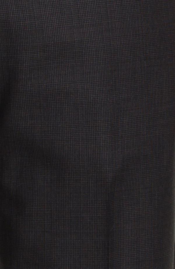 Alternate Image 6  - Joseph Abboud Charcoal Plaid Wool Suit