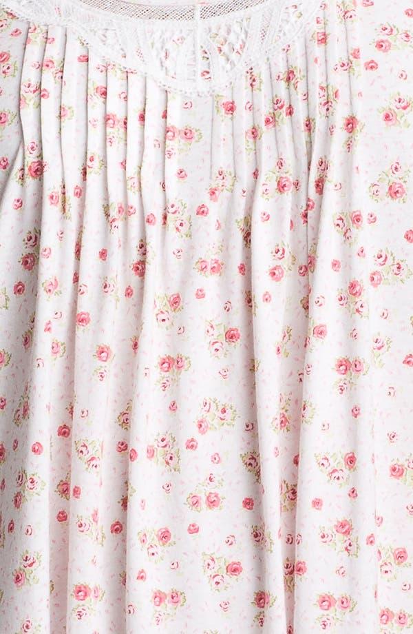 Alternate Image 3  - Carole Hochman Designs 'Rose Cottage' Nightgown (Plus)