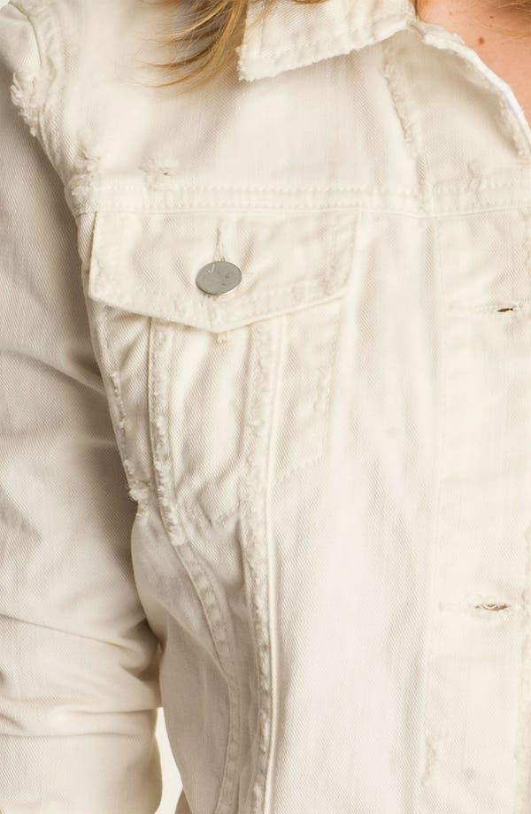 Alternate Image 3  - J Brand 'Beat Down' Distressed Denim Jacket (Immortal)