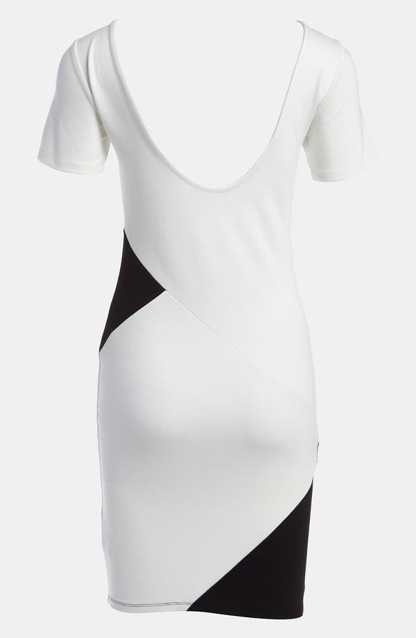 Alternate Image 2  - LMK Body-Con Dress