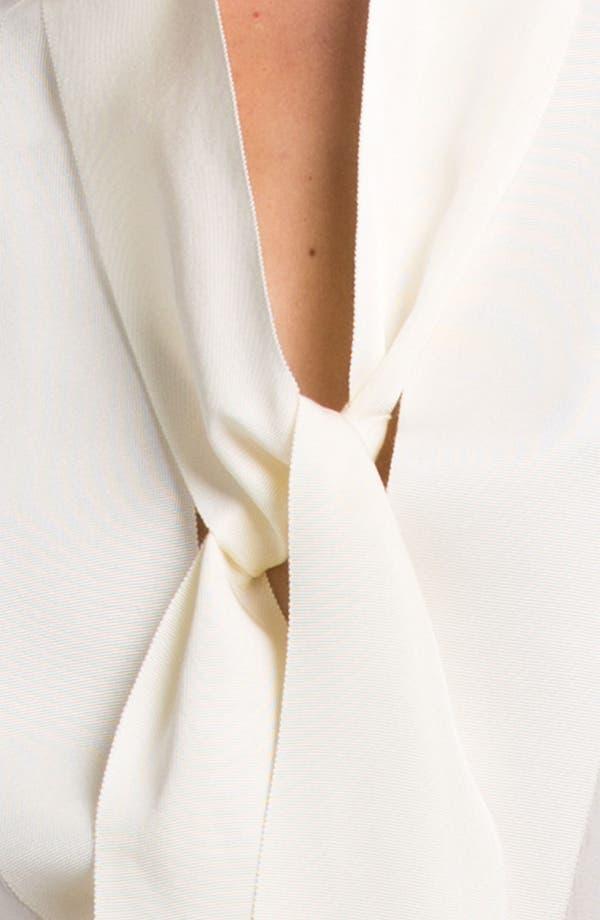 Alternate Image 5  - Lanvin Sleeveless Tie Neck Blouse