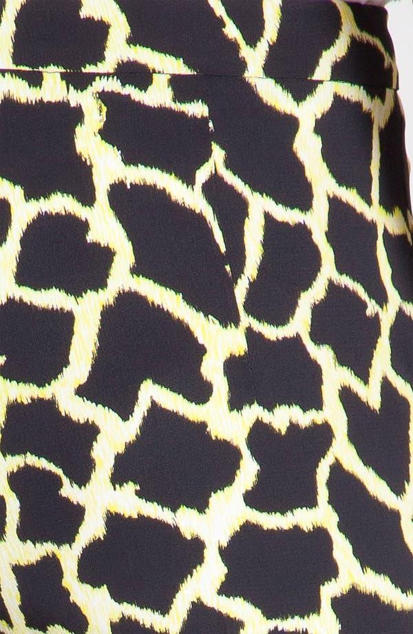 Alternate Image 7  - MSGM Giraffe Print Straight Leg Pants