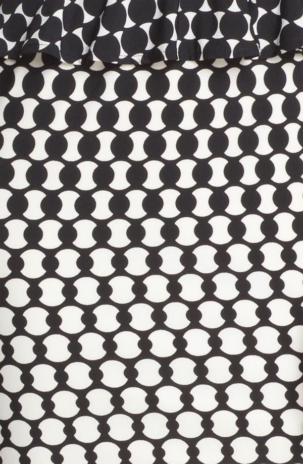 Alternate Image 3  - Donna Morgan Print Peplum Sheath Dress