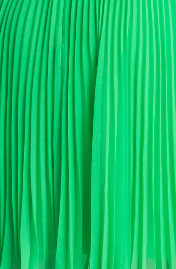 Alternate Image 3  - Suzi Chin for Maggy Boutique Pleated Chiffon Dress