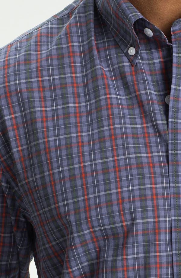 Alternate Image 3  - Cutter & Buck 'Kent Plaid' Regular Fit Sport Shirt (Online Only)