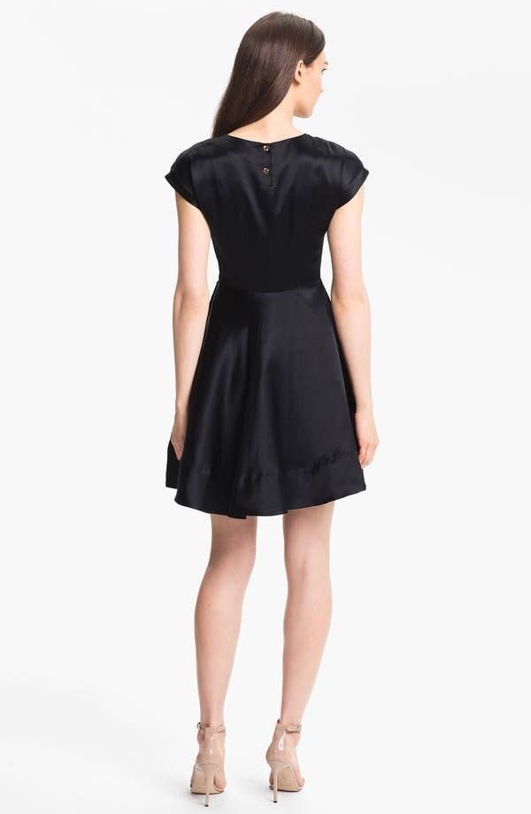 Alternate Image 2  - Ted Baker London Silk Fit & Flare Dress