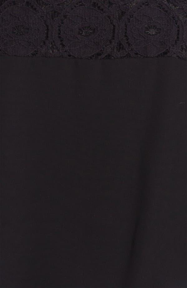 Alternate Image 3  - Kay Celine Cold Shoulder Lace Blouse