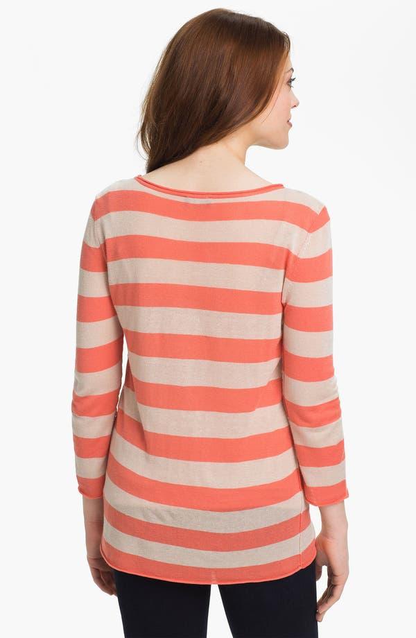 Alternate Image 2  - Vince Camuto Stripe Sweater