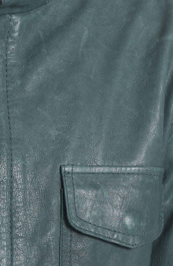 Alternate Image 3  - Edun Leather Field Jacket