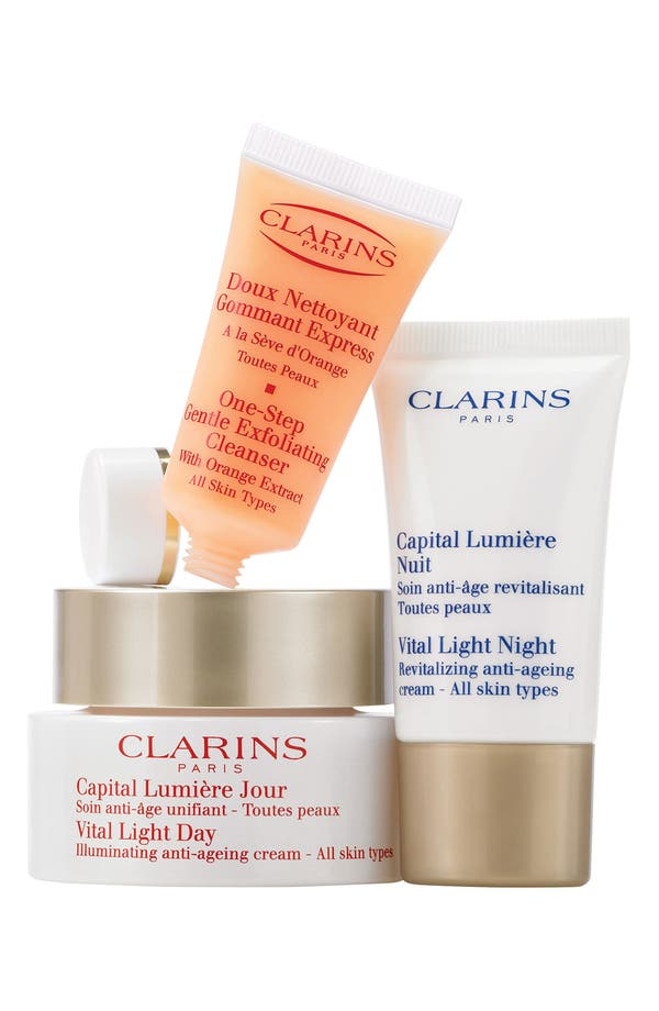 Alternate Image 1 Selected - Clarins 'Skin Solutions - Vital Light' Set ($119 Value)