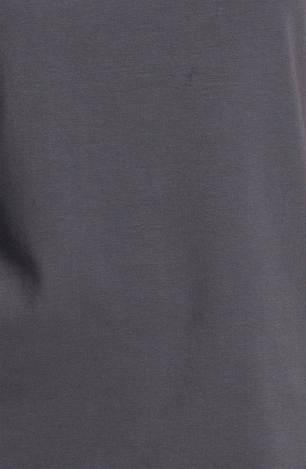 Alternate Image 3  - Eileen Fisher Scoop Neck Cap Sleeve Tee