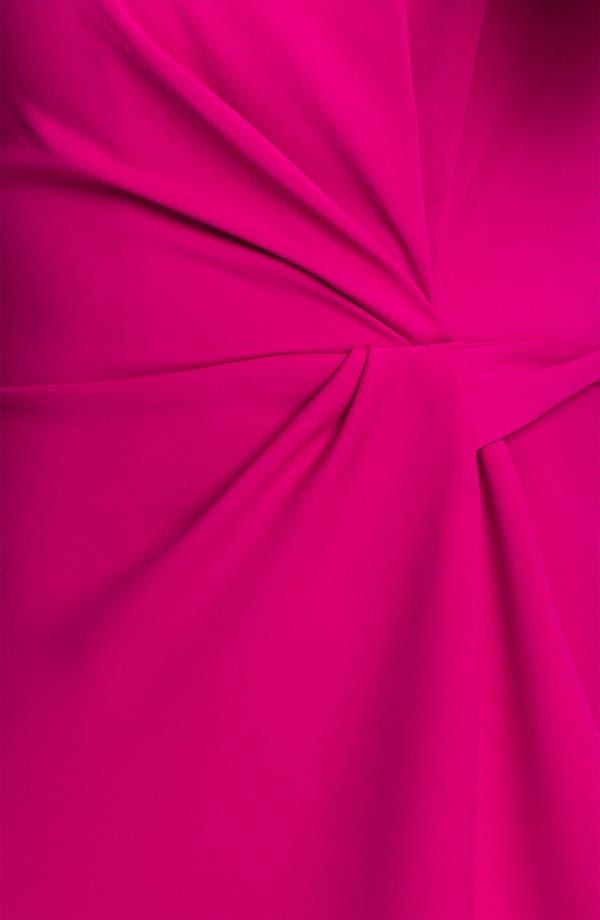 Alternate Image 3  - Donna Ricco Sleeveless Side Tie Dress (Petite)