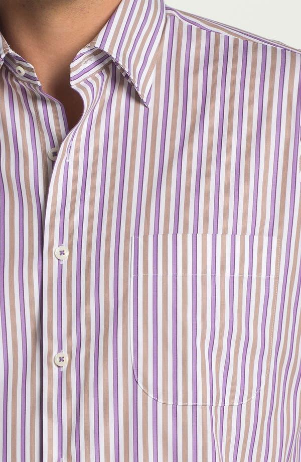 Alternate Image 3  - Peter Millar 'Munich' Regular Fit Stripe Sport Shirt