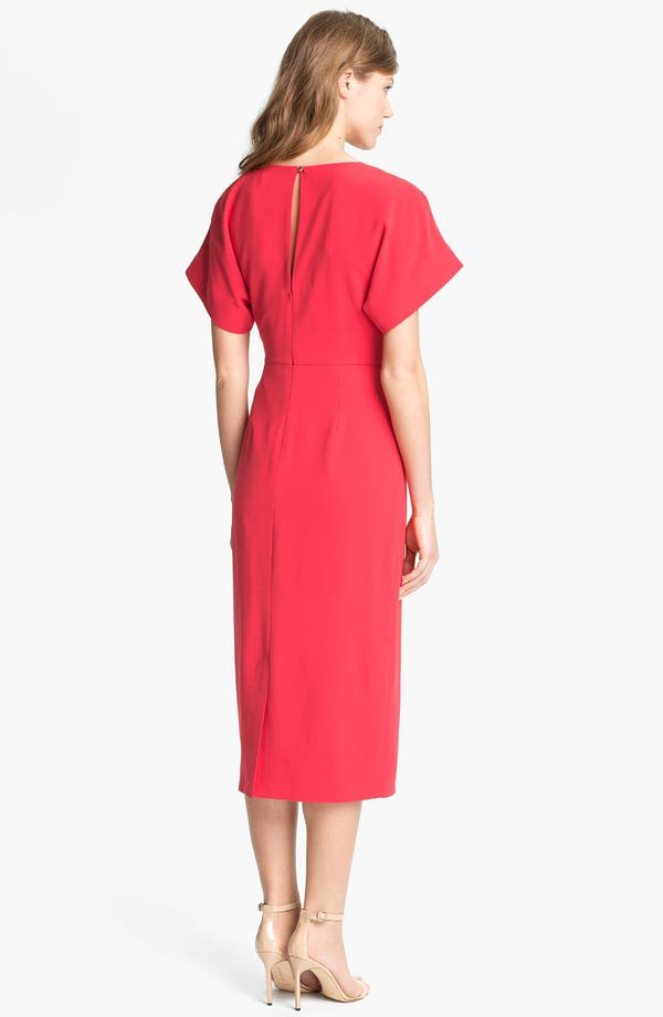 Alternate Image 2  - Ted Baker London Gathered Midi Dress (Online Only)