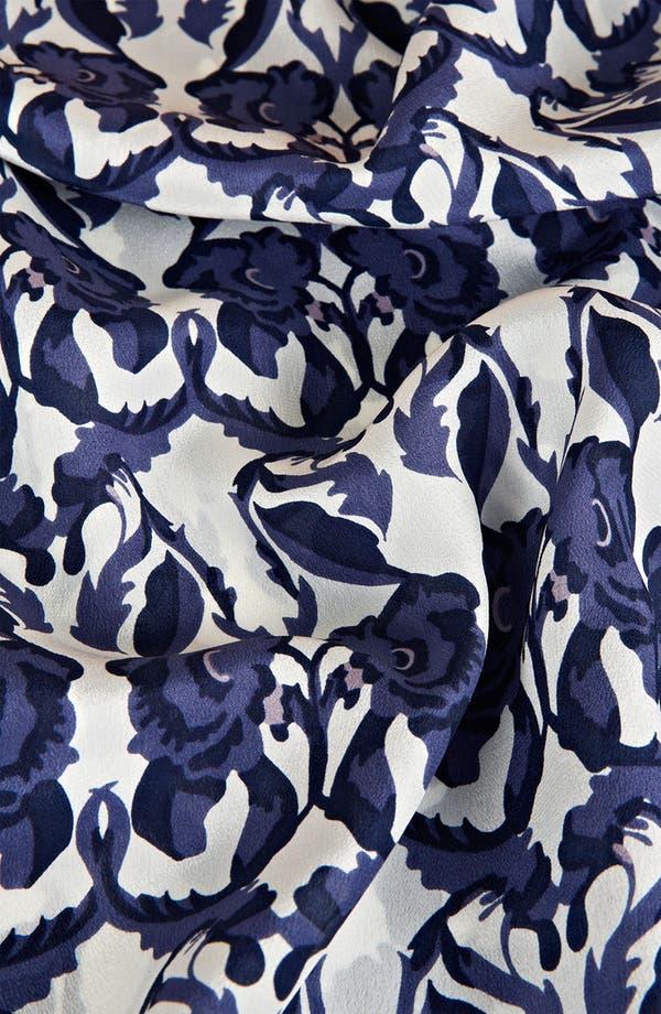 Alternate Image 3  - Topshop Floral Print Silk Tunic