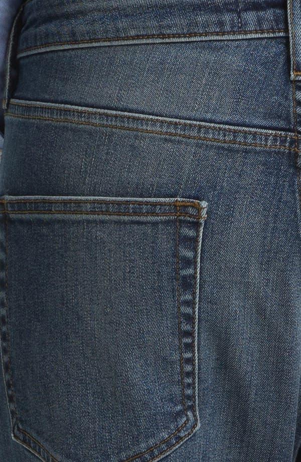 Alternate Image 4  - Topman Slim Skinny Leg Jeans (Medium Blue)