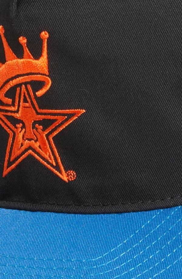 Alternate Image 2  - Obey 'Foul Line' Snapback Hat