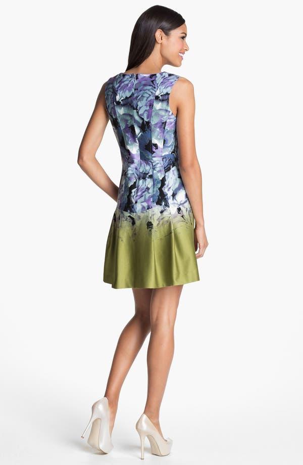 Alternate Image 2  - Vince Camuto Print Fit & Flare Dress