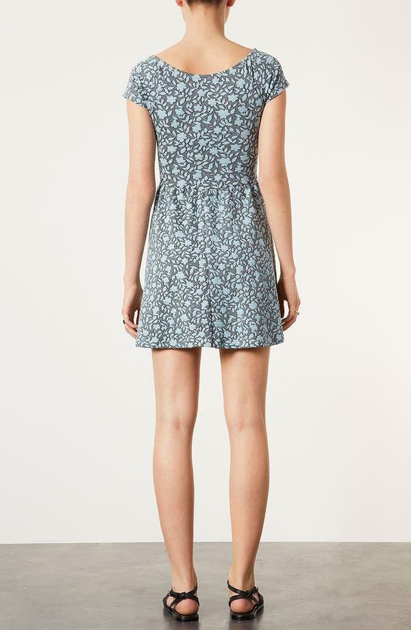 Alternate Image 3  - Topshop Floral Jacquard Dress