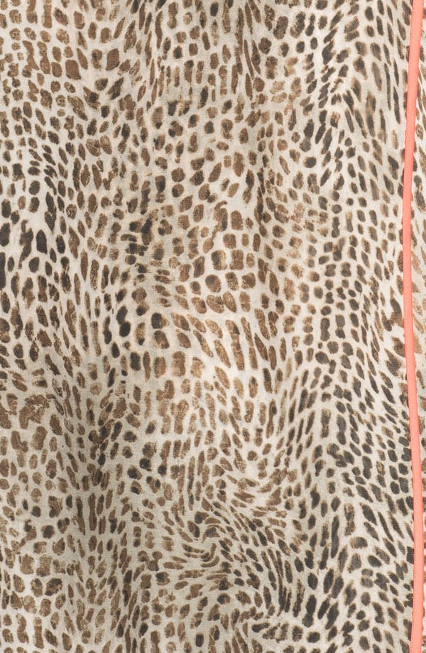 Alternate Image 3  - Vince Camuto Cheetah Print Blouse