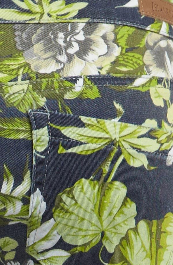 Alternate Image 4  - BLANKNYC 'Tropical Rain - The Stick Shift' Cigarette Leg Jeans