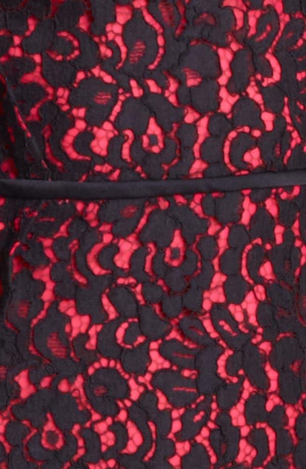 Alternate Image 3  - Michael Kors Floral Lace Sheath Dress