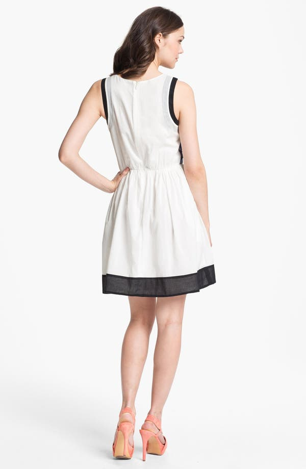 Alternate Image 2  - Matty M Sleeveless Flared Dress