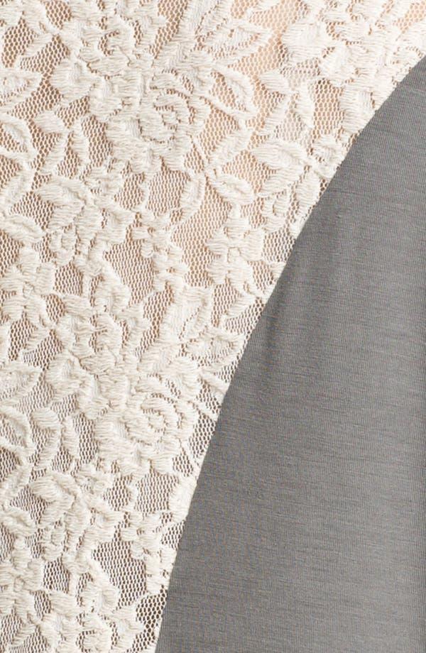 Alternate Image 3  - Kische Lace Detail Top (Plus) (Online Exclusive)