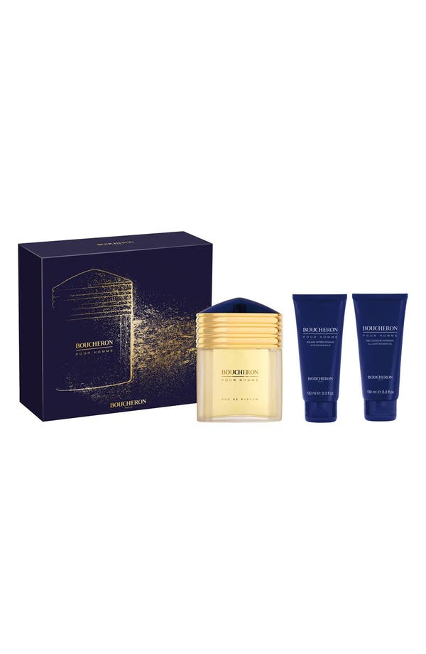 Alternate Image 1 Selected - Boucheron 'pour Homme' Gift Set ($181 Value)