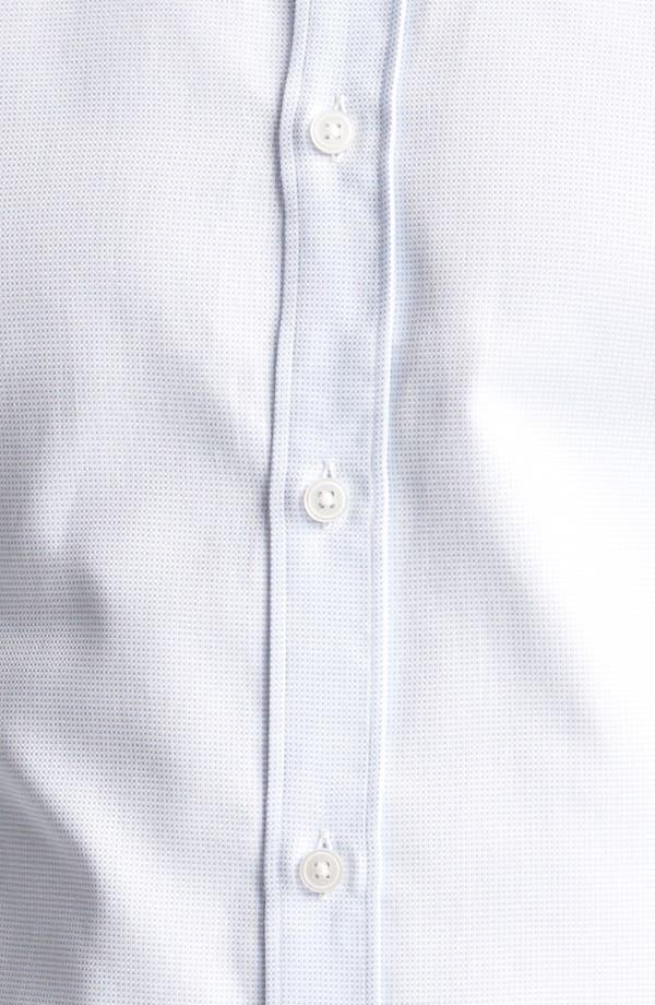 Alternate Image 3  - Z Zegna Micro Check Cotton Dress Shirt
