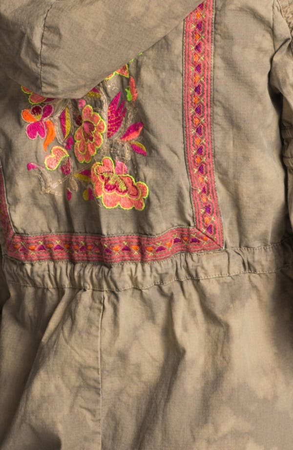 Alternate Image 3  - Free People 'Festival' Embroidered Tie Dye Anorak