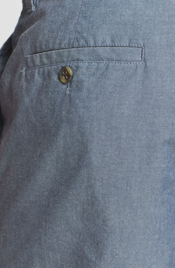 Alternate Image 3  - Wallin & Bros. 'Lanspur' Chambray Shorts