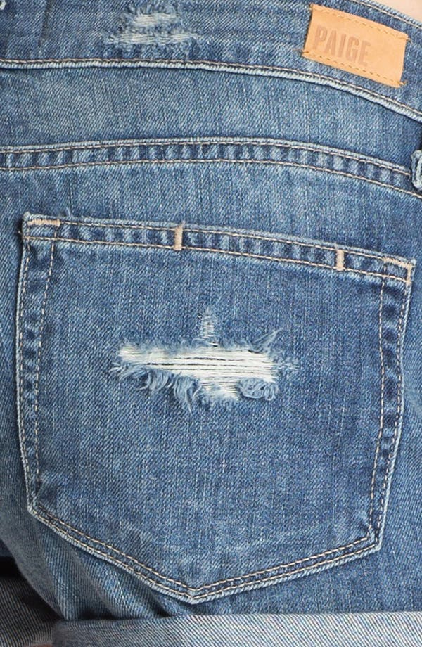 Alternate Image 3  - Paige Denim 'Jimmy Jimmy' Destroyed Denim Shorts (Riley Deconstruction)