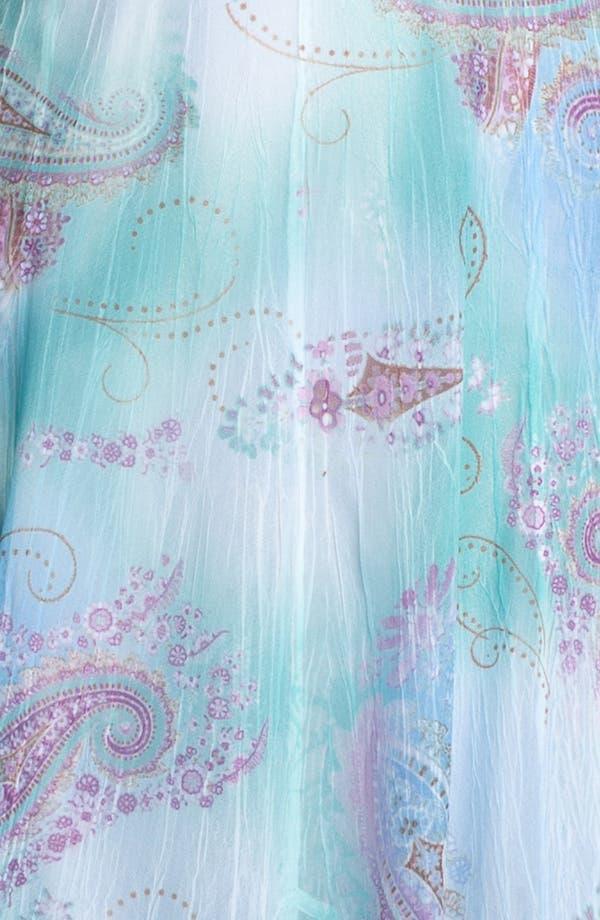 Alternate Image 3  - Komarov Print Chiffon A-Line Dress