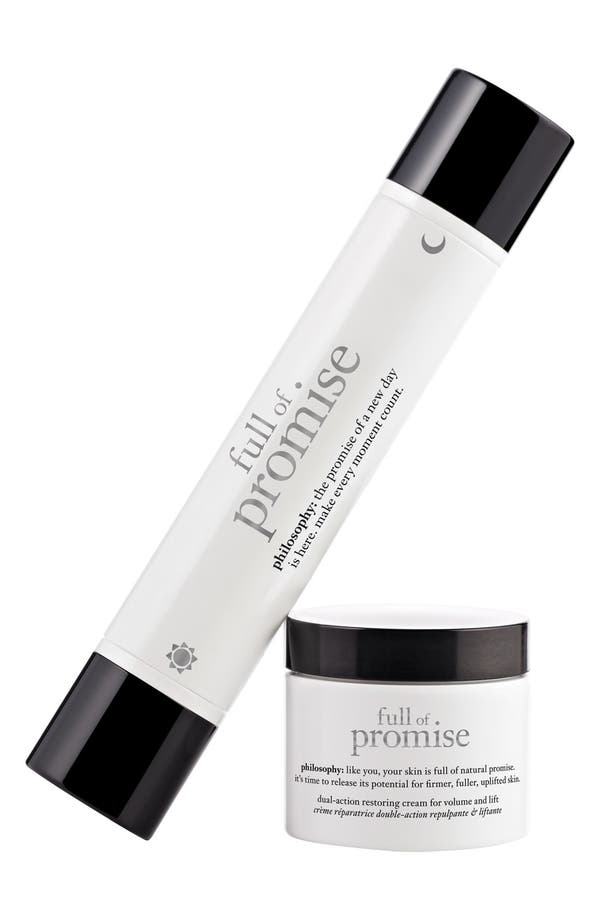 Main Image - philosophy 'full of promise' face kit (Nordstrom Exclusive) ($107.50 Value)