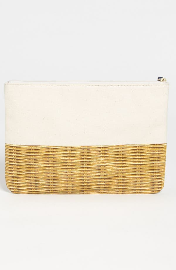 Alternate Image 4  - kate spade new york 'call to action - gia' canvas pouch