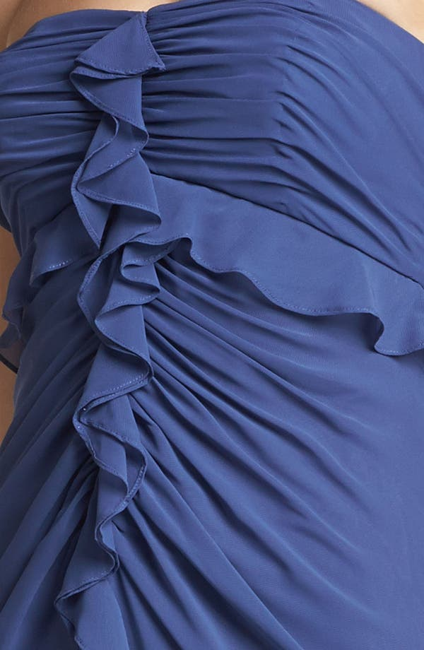 Alternate Image 3  - Jill Jill Stuart Strapless Ruffled Chiffon Gown