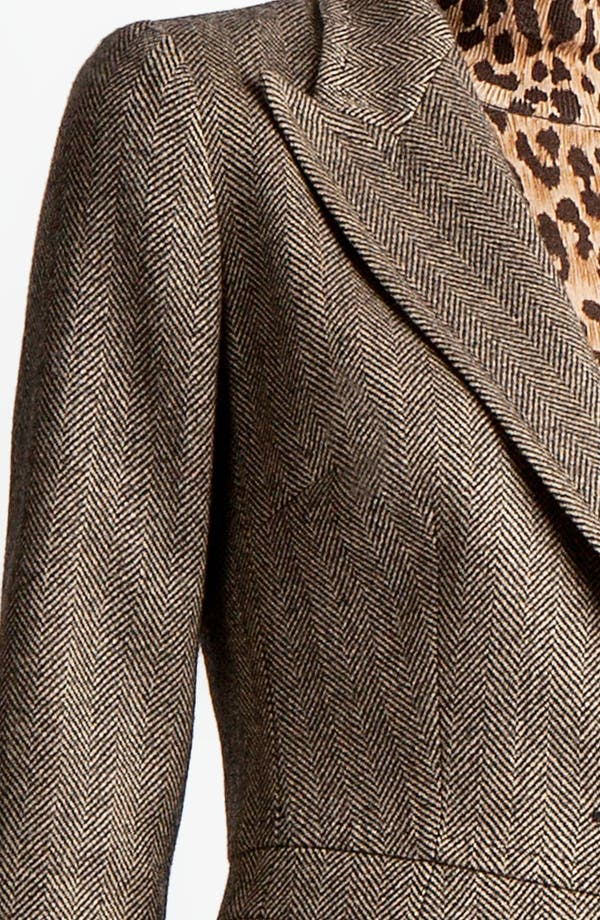 Alternate Image 4  - Dolce&Gabbana Stretch Herringbone Jacket