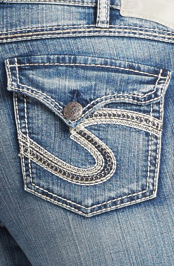 Alternate Image 3  - Silver Jeans Co. 'McKenzie' Faded Bootcut Jeans (Juniors Plus)