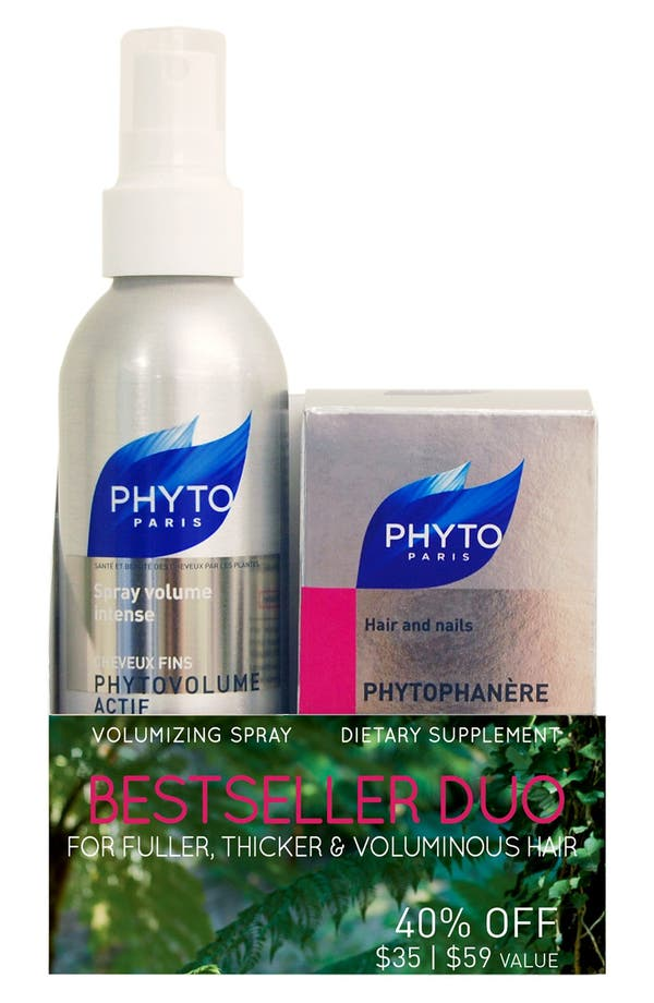 Alternate Image 2  - PHYTO Phytovolume Actif & Phytophanère Set (Full Size) (Nordstrom Exclusive) ($59 Value)