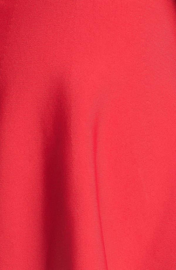 Alternate Image 3  - BCBGMAXAZRIA Ribbed Fit & Flare Minidress