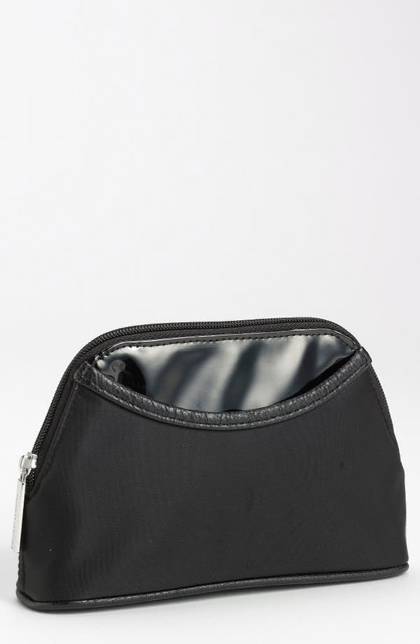 Alternate Image 1 Selected - Nordstrom Faux Leather Trim Cosmetics Bag (Small)