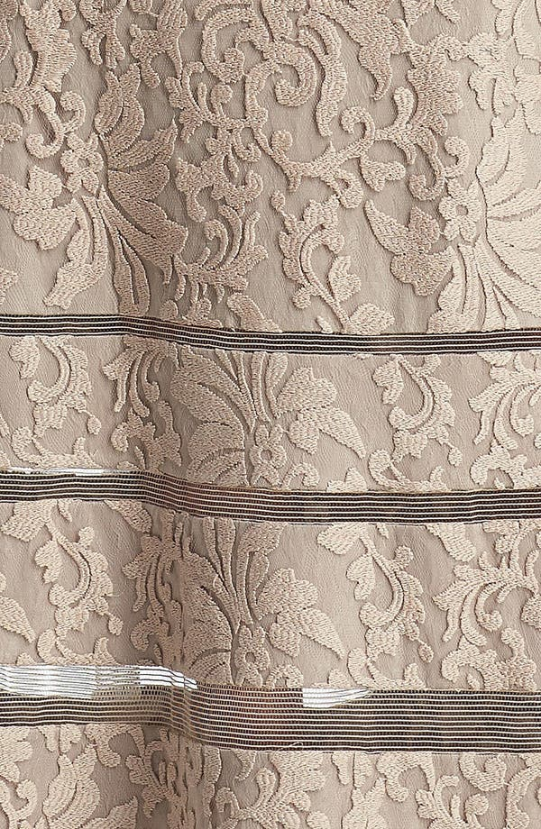 Alternate Image 3  - Tadashi Shoji Cap Sleeve Lace Gown