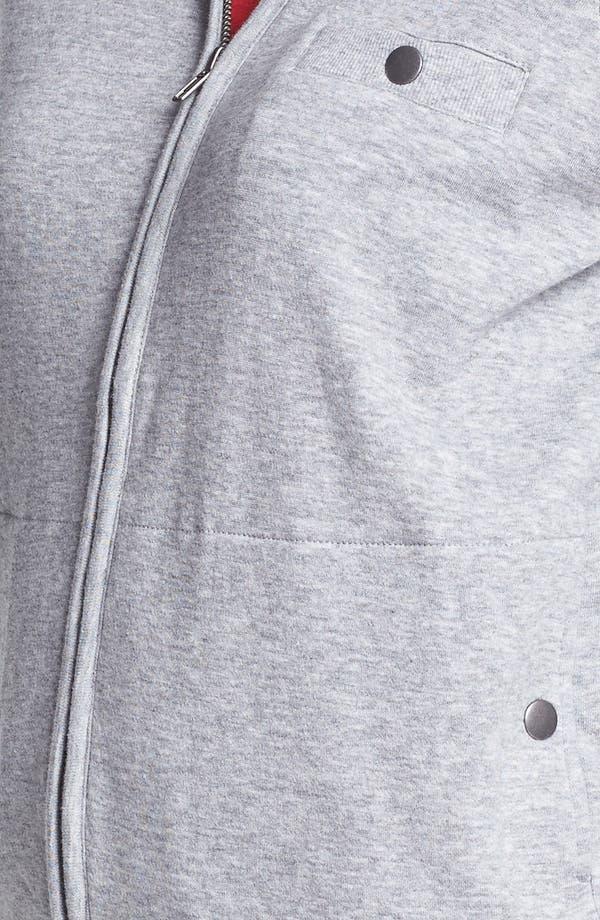 Alternate Image 3  - Halogen® Front Zip Knit Jacket