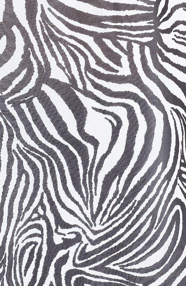 Alternate Image 3  - Vince Camuto Zebra Print Blouse (Plus Size)