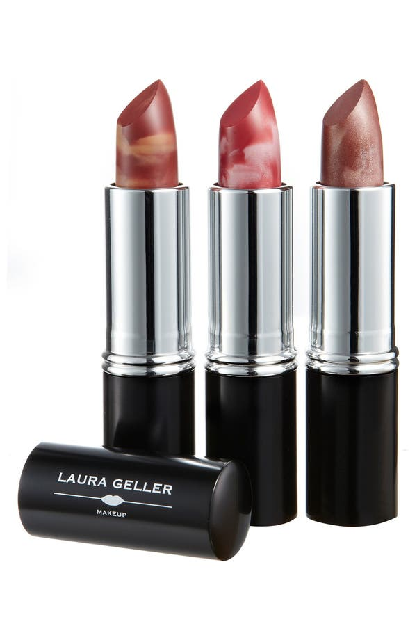 Alternate Image 1 Selected - Laura Geller Beauty 'Italian Marble - Option 2' Lipstick Trio