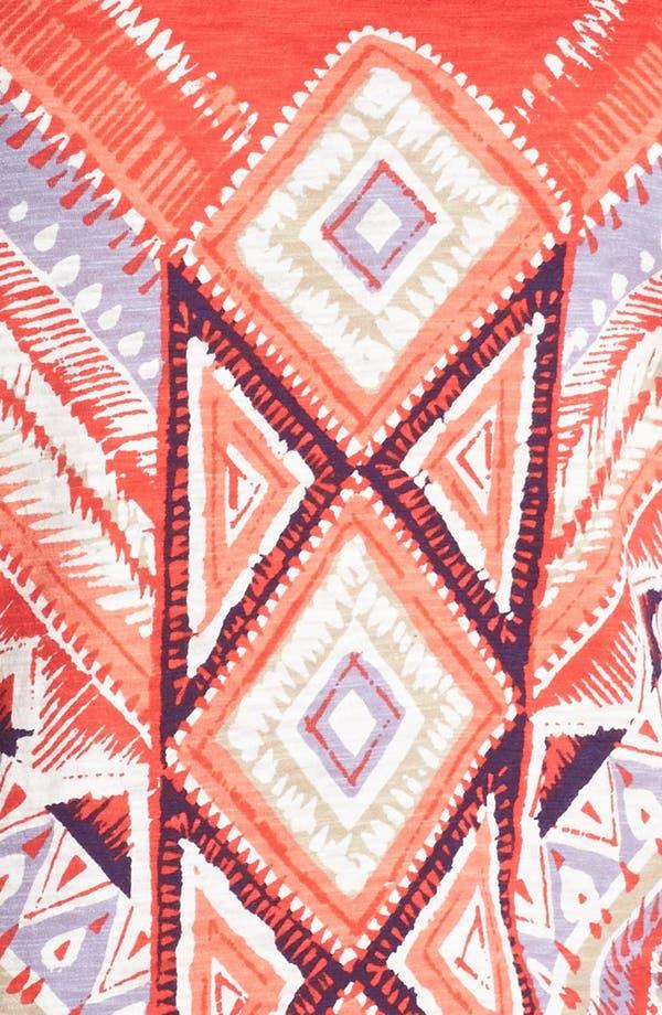 Alternate Image 3  - Lucky Brand Aztec Print Racerback Tank (Online Only)