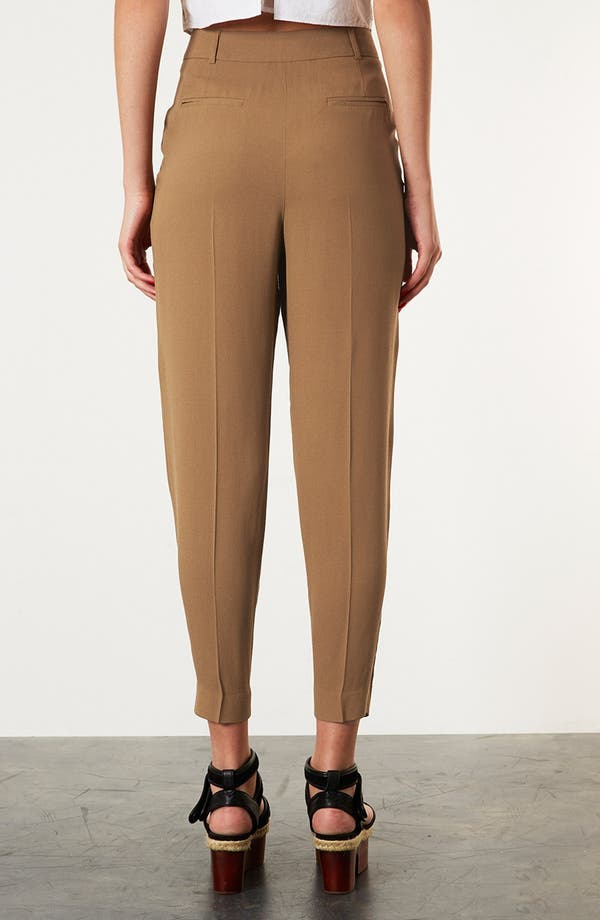 Alternate Image 2  - Topshop 'Mensy' Tapered Trousers