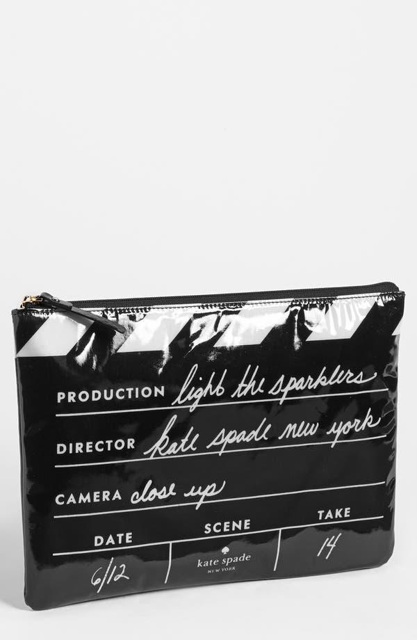 Main Image - kate spade new york 'cinema city - gia' pouch